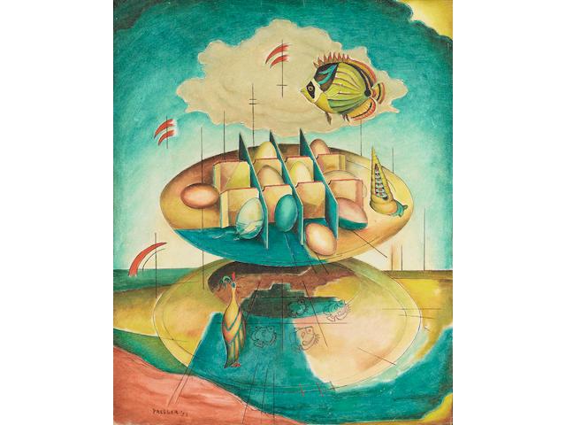 Alexis Preller (South African, 1911-1975) Icarus