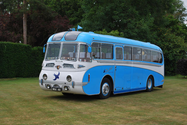 """Blue Bird"" - the ex-Blue Bird Garages (Hull) Ltd,1952 Leyland Royal Tiger PSV1/1S 41-Seater Coach  Chassis no. 515490"