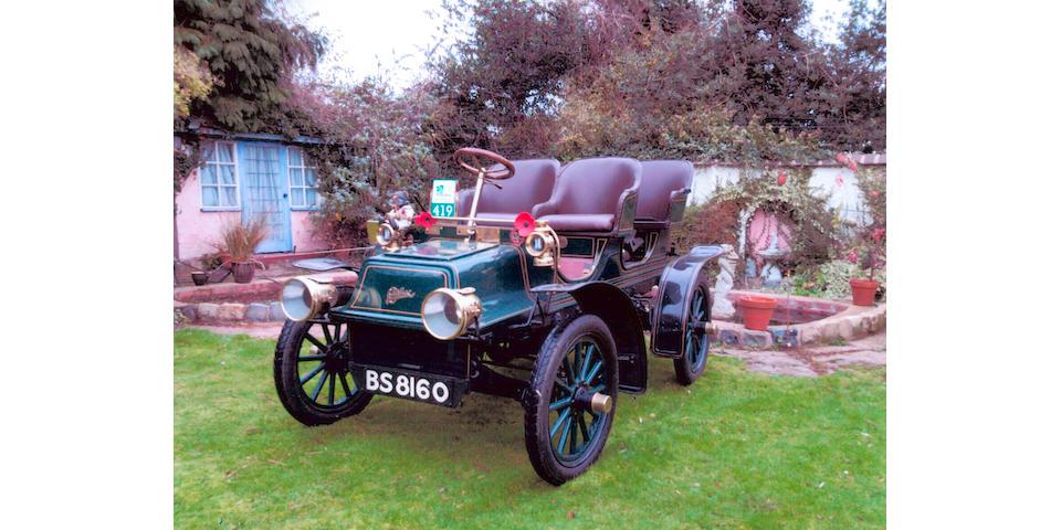 1904 Cadillac Model B Surrey  Chassis no. 2746 Engine no. 2746