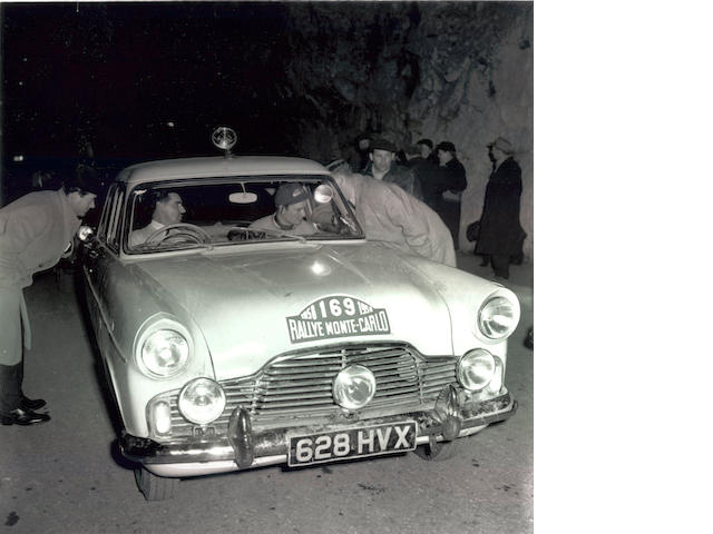 1956 Ford Zephyr Rally Car  Chassis no. 34799