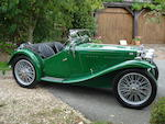 1933 MG Midget J2 Roadster  Chassis no. J 3571 Engine no. 2498 AJ