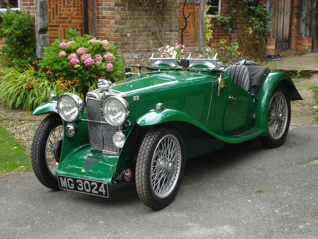 1933 MG J2,