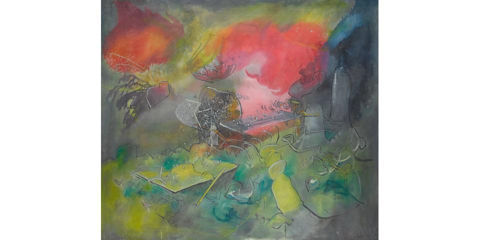 Roberto Sébastian Matta (Chilean, 1911-2002) Untitled, 1974