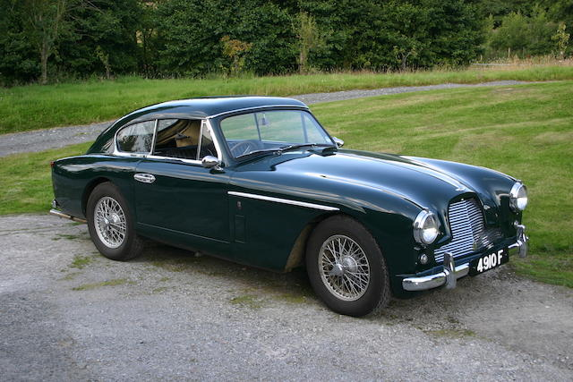 1957 Aston Martin DB2/4 MkII Saloon  Chassis no. AM300/1234 Engine no. VB6J/858
