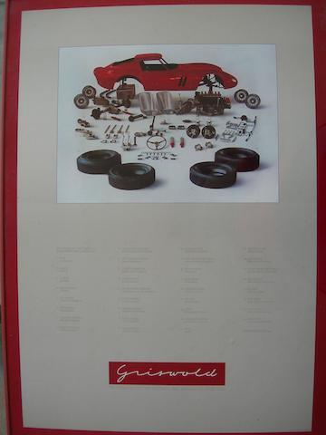A Ferrari GTO poster,