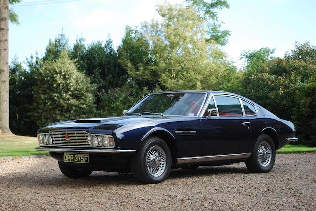 1968 Aston Martin DBS,