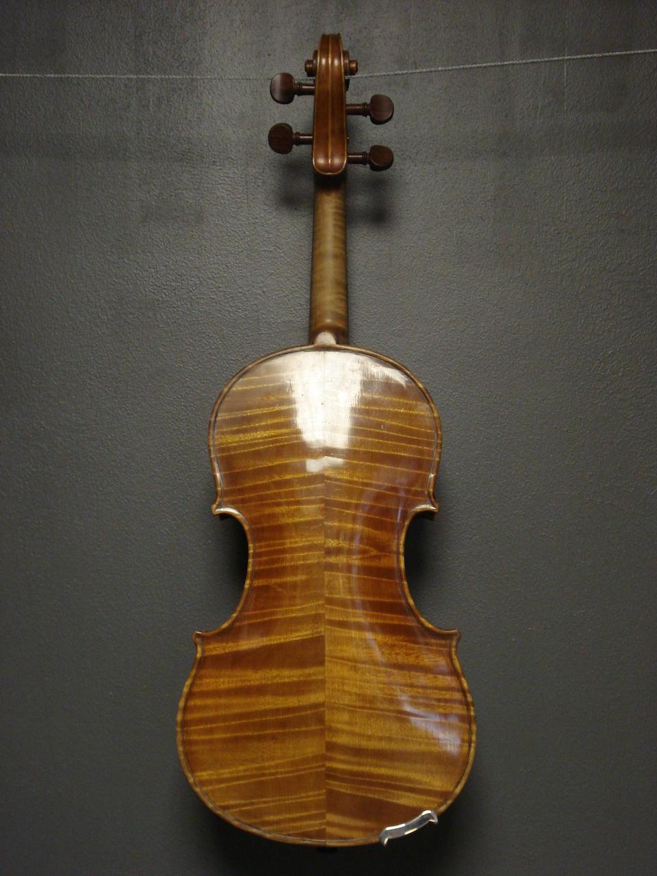 An interesting Violin, circa 1850 (1)