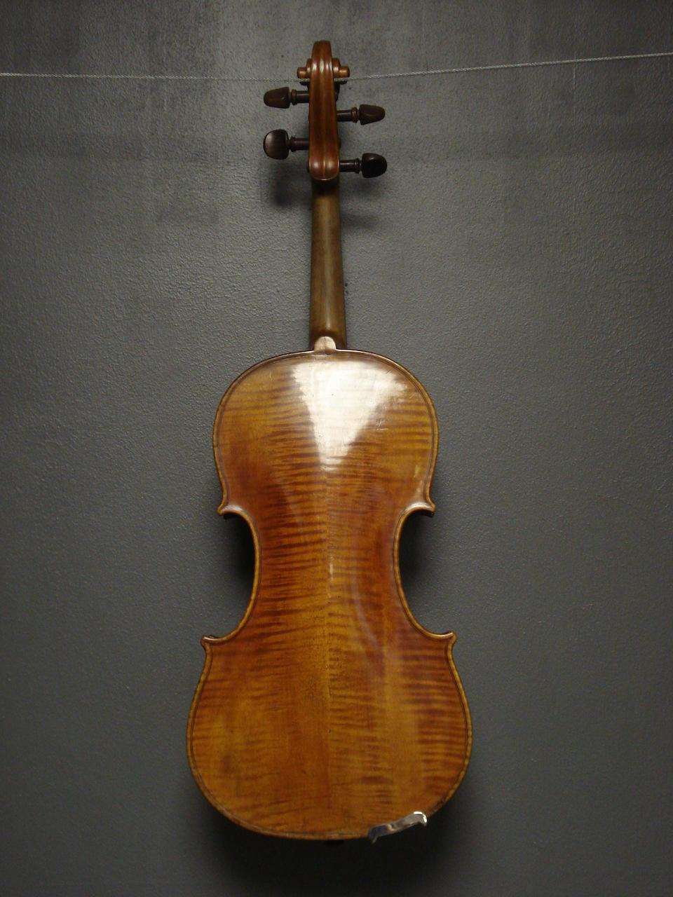A Violin of the Danube School, circa 1840 (1)