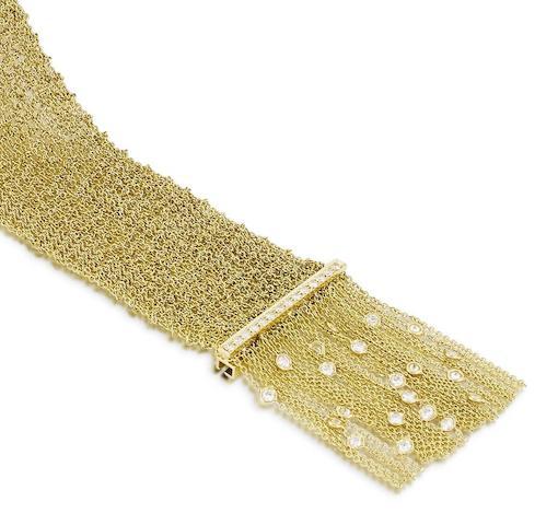 A diamond-set 'Delilah' bracelet, by Boucheron