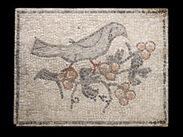 A Byzantine mosaic