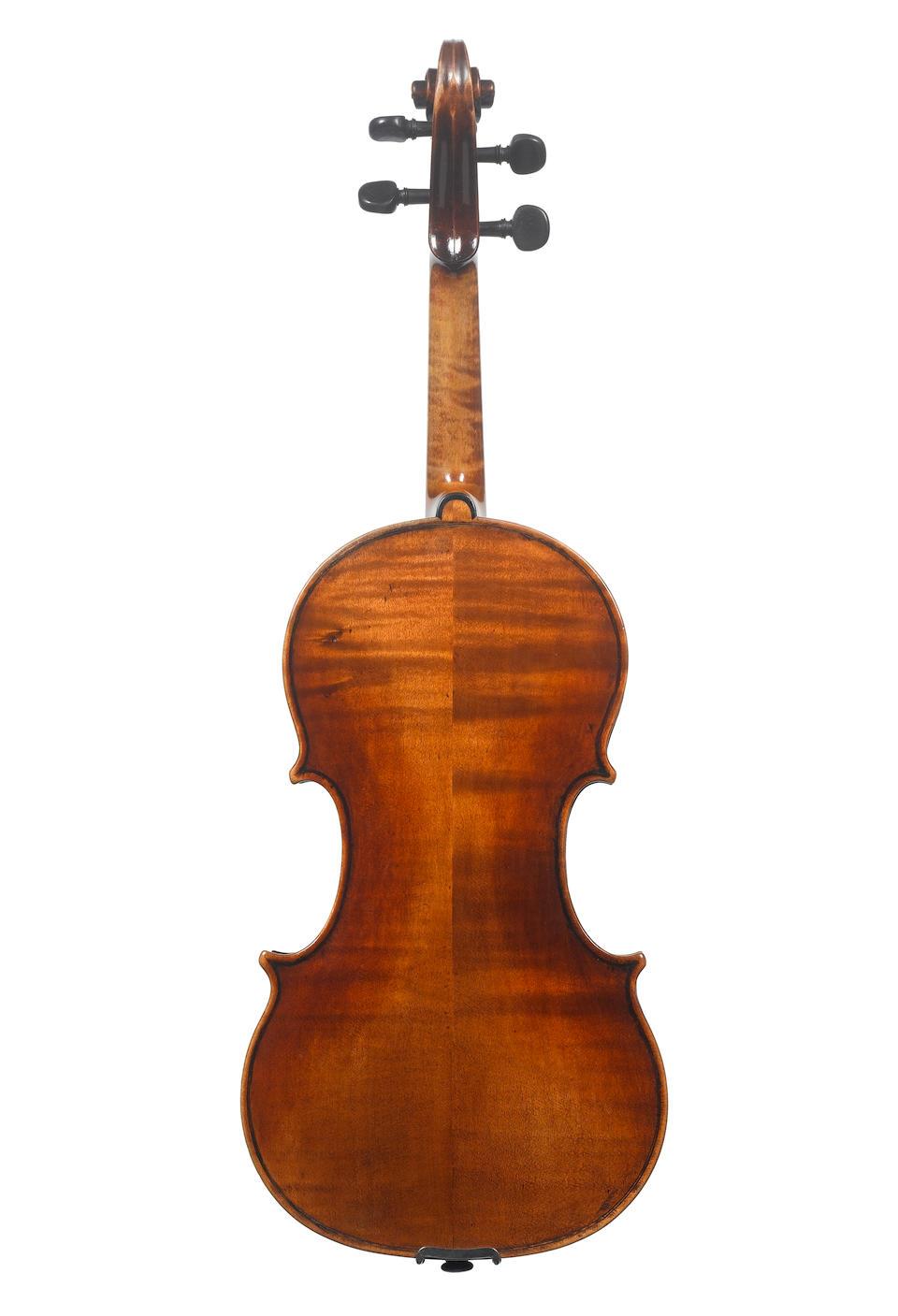 An English Violin by George Craske, circa 1870 (2)
