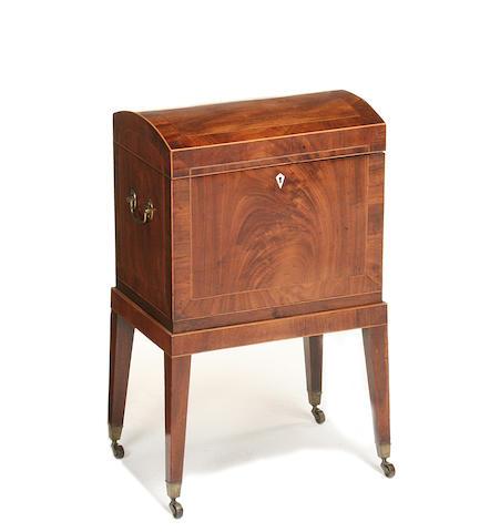 A George III mahogany cellarette