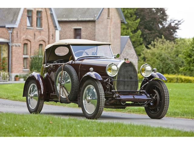 1924 Bugatti Type 30/38 Tourer  Chassis no. 38298 Engine no. 533
