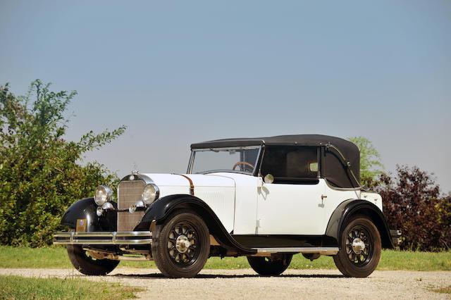 1931 Mercerdes 200SS/W21 Stuttgart 'SS' Sports Roadster  Chassis no. 85053 Engine no. 85053