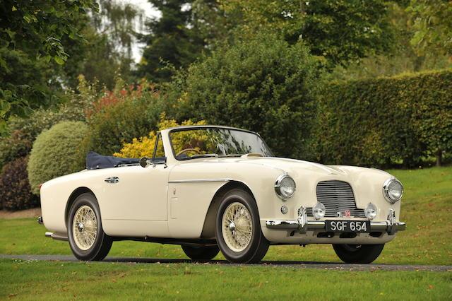 1955 Aston Martin DB2/4 MkII Drophead Coupé  Chassis no. AM300/1104  Engine no. VB6J/625