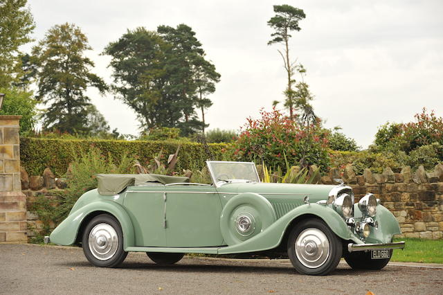 1937 Bentley 4 1/4-Litre All Weather Tourer  Chassis no. B170KT Engine no. W9BP