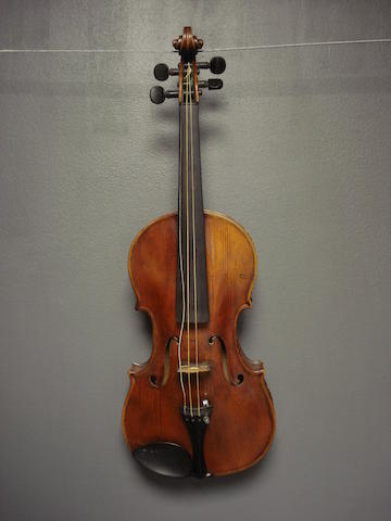 An English Violin by S.B. Wilkinson, Leeds, 1891 (2)