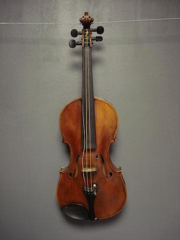 An English Violin by S.B. Wilkinson, Leeds, 1891 (2)