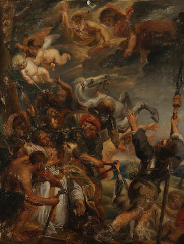 After Sir Peter Paul Rubens, 19th Century The Martyrdom of St Livinus