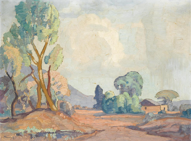 Jacob Hendrik Pierneef (South African, 1886-1957) Bushveld