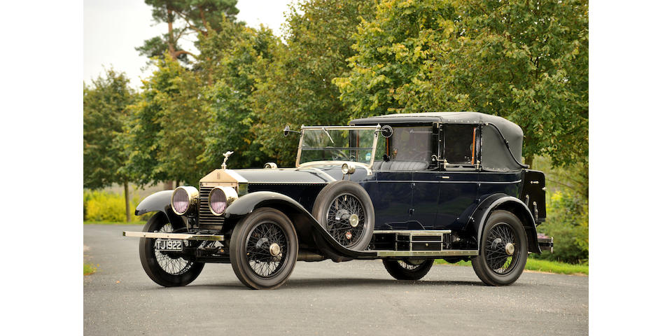 1923 Rolls-Royce 40/50hp Silver Ghost 'Salamanca'  Chassis no. 112 JH Engine no. 22/187