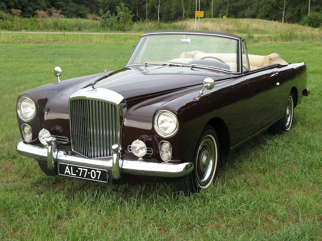 1962 Bentley Continental Drophead Coupé  Chassis no. BC-131-LCZ