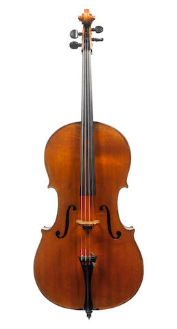 An interesting Cello of the English School, circa 1820 (4)