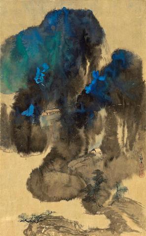 Zhang Daqian (1899-1983): Blue and Green Landscape