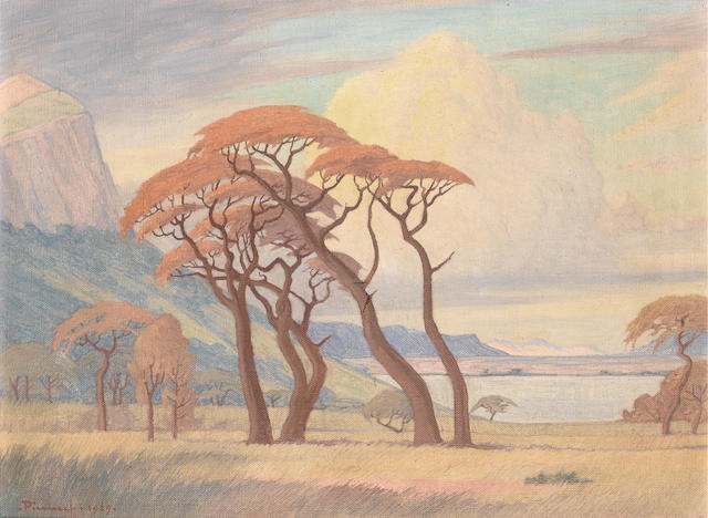 Jacob Hendrik Pierneef (South African, 1886-1957) Hartebeespoortdam