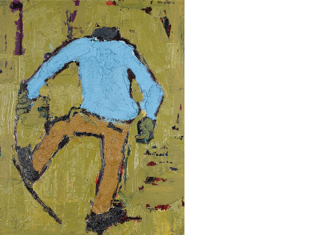 Ephraim Mojalefa Ngatane (South African, 1938-1971) Man with Stick