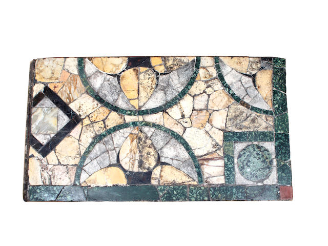 Two similar mosaic panels