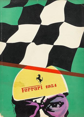 A 1954 Ferrari Yearbook,