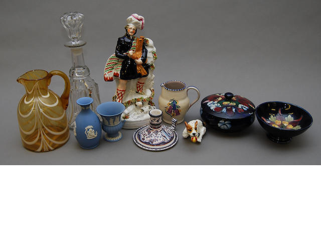 A quantity of ceramics and glass
