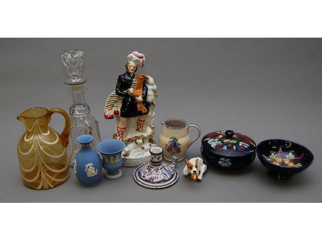 A quantity of ceramics and glass