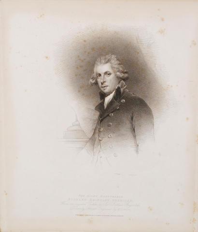 After Sir Joshua Reynolds, PRA Portrait of the Rt Hon Richard Brinsley Sheridan