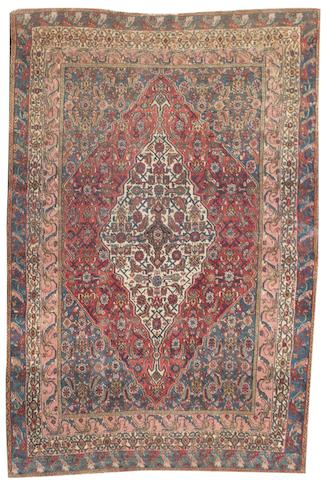 A Senneh rug West Persia, 6 ft 4 in x 4 ft 6 in (192 x 136 cm)