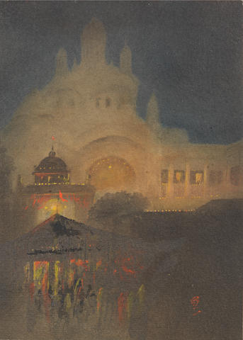 Gaganendranath Tagore (India, 1867-1938) The Illumination of the Shadow,