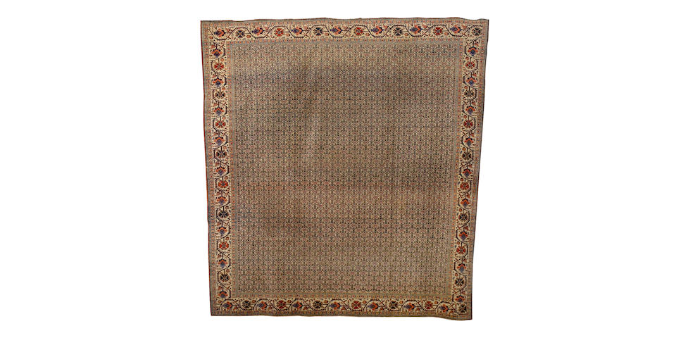 A Sultanabad carpet West Persia, 12 ft 10 in x 12 ft (390 x 365 cm)