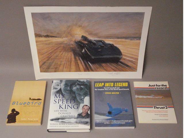 Four speed record books,