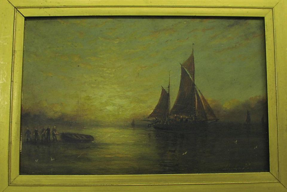 Adolphus Knell (British, active 1860-1890)