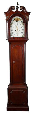 George Baird, Carlisle: A George III oak longcase clock