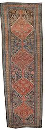 A Bidjar runner Persian Kurdistan, 14 ft 5 in x 4 ft 6 in (438 x 136 cm)