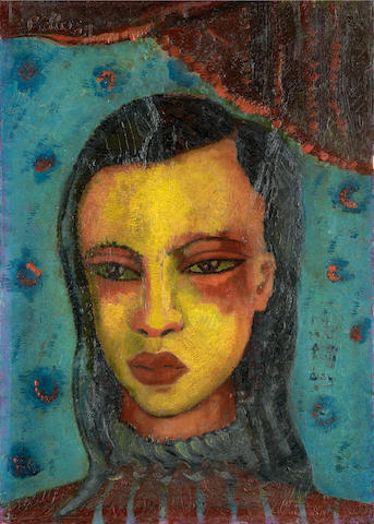 Alexis Preller (South African, 1911-1975) Cape Malay girl