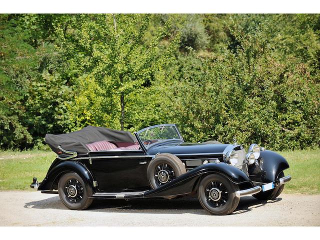 1937  Mercedes-Benz  540K Cabriolet C  Chassis no. 169312 Engine no. 169312