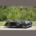 1937  Mercedes-Benz  540K Cabriolet C  Chassis no. 169312 Engine no. 169312