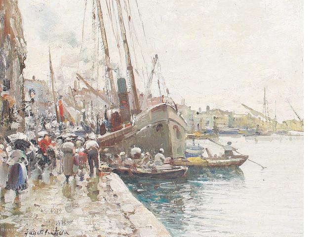 Fausto Pratella (Italian, 1888-1964) Chioggia, Venezia