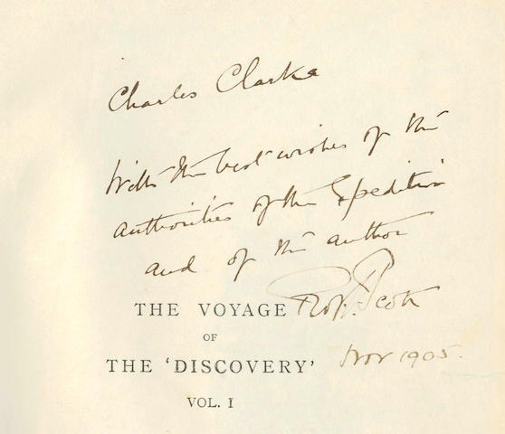 Scott, Captain Robert Falcon (1868-1912) The Voyage of the Discovery. Vols. 1 & 2