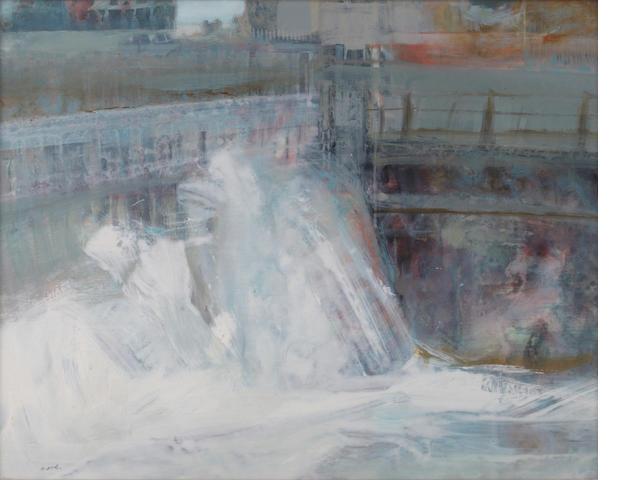 Mardi Barrie, RSW (British, 1931-2004) Water Gate II