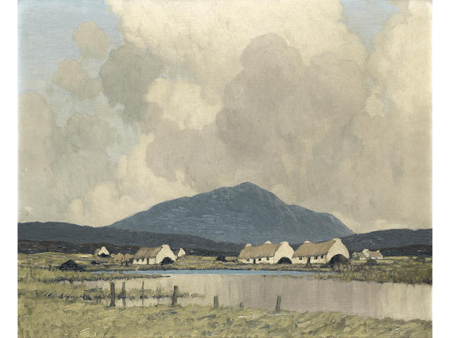 Paul Henry R.H.A. (1876-1958) Irish landscape approx 18 x 20