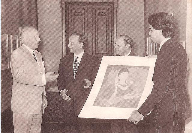 Abdur Rahman Chughtai (Pakistan, 1894-1975) Pride of the East,